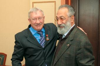 С Артуром Чилингаровым