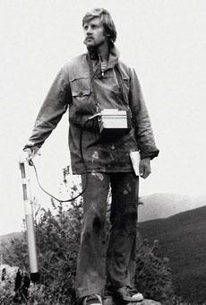1989 год, геолог Сергей Миронов во время полевых работ в Туве