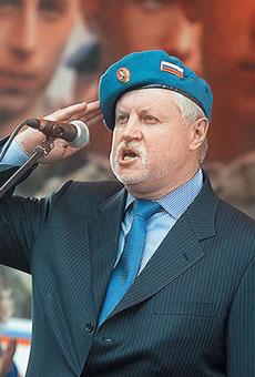 Выступление Сергея Миронова на митинге ВДВ в Воронеже